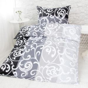 XPOSE ® Bavlněné povlečení na dvě lůžka MELISA - černá 140x200