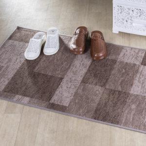 Kusový koberec ICONA hnědá 67 x 150 cm
