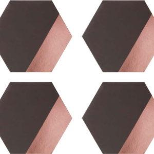 Sada 4 koženkových prostírání Premier Housewares Geome
