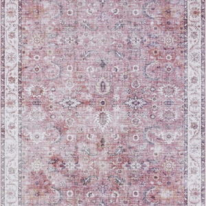 Světle červený koberec Nouristan Vivana