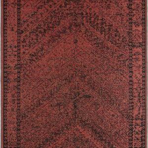 Tmavě červený venkovní koberec Bougari Mardin