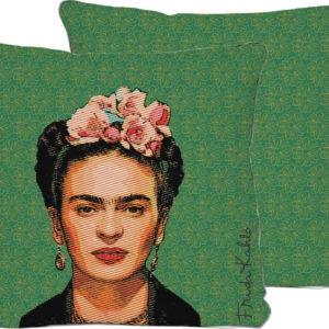 Zelený polštář Madre Selva Frida
